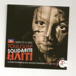 Solidarité Haïti: un CD