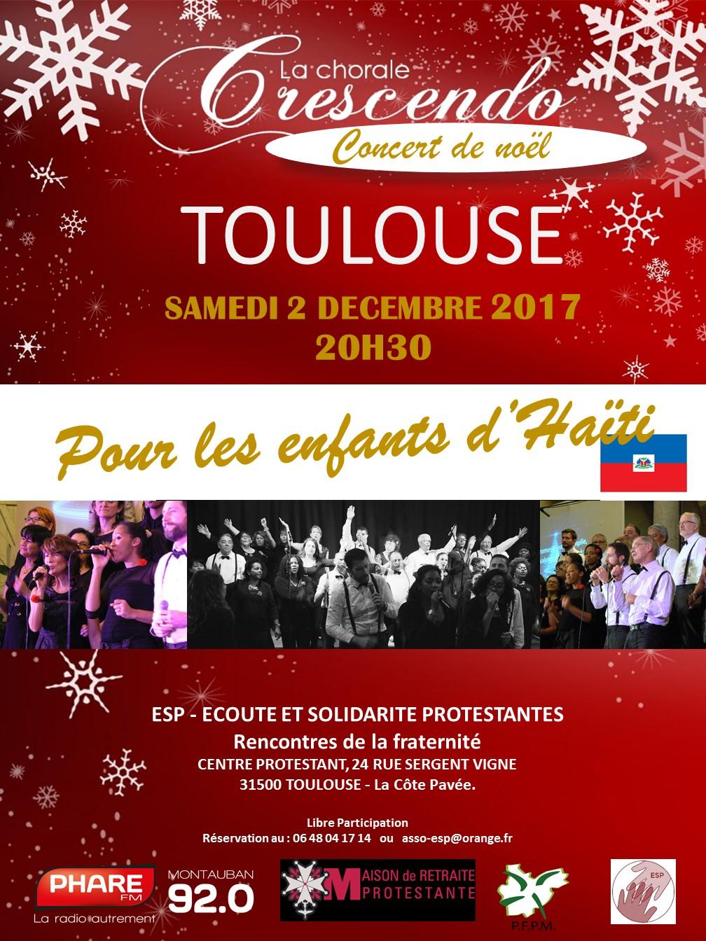Concert de Noël pour Haïti