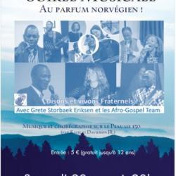 Concert de la fraternité: Samedi 30 nov à 20h00