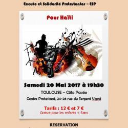 Soirée spectacle pour Haïti