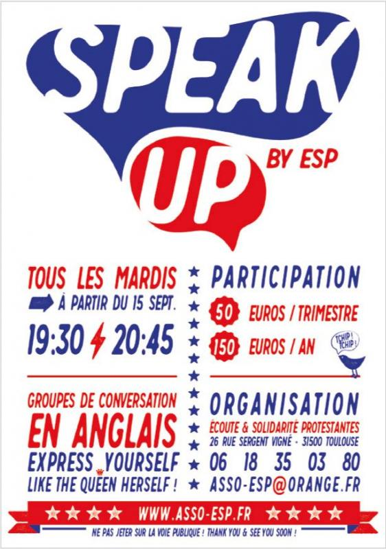 Speak up flyer 2015